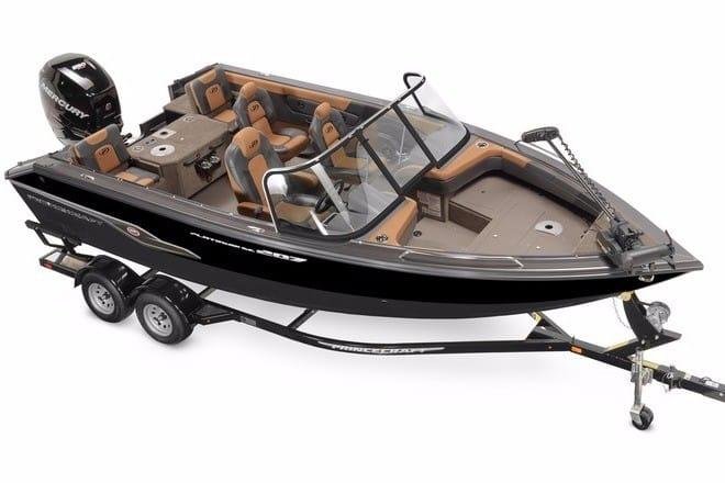 bateau de peche princecraft usage a vendre